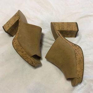 universal thread • michelle cork platform mules